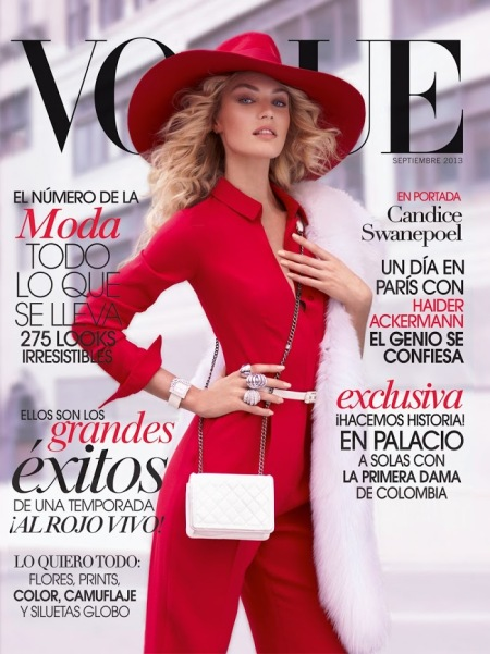 VOGUE MEXICO SEPTEMBER 2013 CANDICE SWANEPOEL