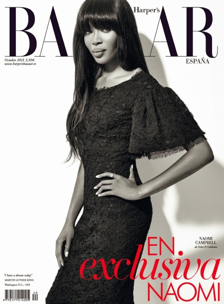 HARPER'S BAZAAR SPAIN OCTOBER 2013 NAOMI CAMPBELL (9)