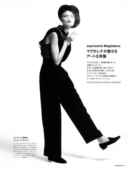 NÚMERO #70 TOKYO OCTOBER 2013 MAGDALENA FRACKOWIAK