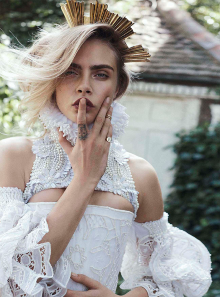 VOGUE AUSTRALIA OCTOBER 2013 CARA DELEVINGNE (6)