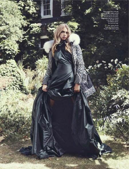 VOGUE AUSTRALIA OCTOBER 2013 CARA DELEVINGNE (8)