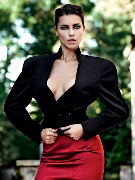 VOGUE BRASIL OCTOBER 2013 ADRIANA LIMA (3)