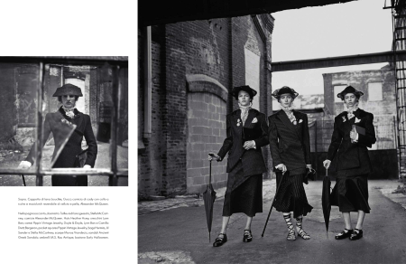 VOGUE ITALIA OCTOBER 2013 EDIE CAMPBELL, JULIA NOBIS, ASHLEIGH GOOD, ONDRIA HANDIN AND ANTONIA WESSELOH (4)