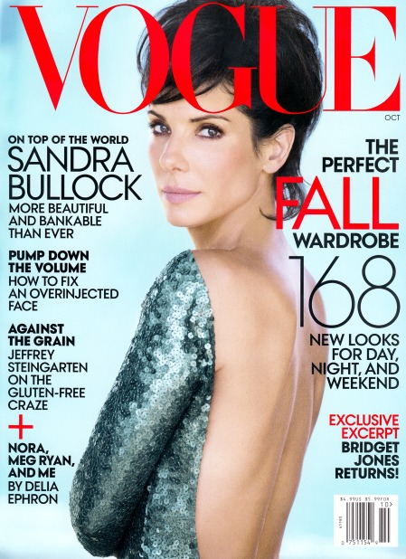 VOGUE US OCTOBER 2013 SANDRA BULLOCK