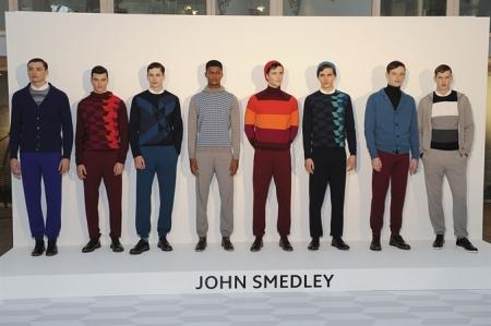 JOHN SMEDLEY FALL WINTER 2014 MEN